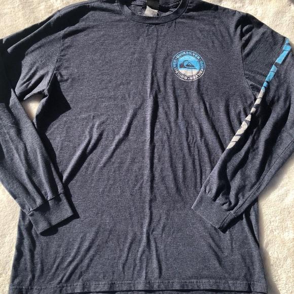 Quiksilver Long Sleeve Mens T Shirt sz L